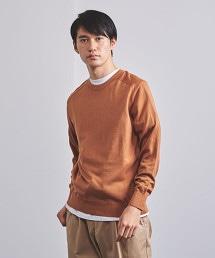 UASB 羊毛混紡蠶絲 高密織圓領針織衫