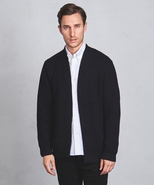 UAST W/AC 低密織 無扣對襟外套
