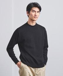 < UNITED ARROWS > 柔滑素材 微高領 針織衫