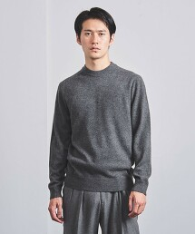 <SOVEREIGN> CASH 全成型 圓領 針織毛衣