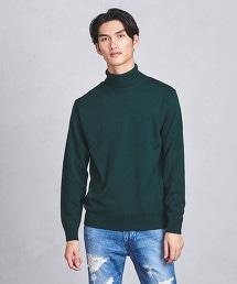 ○UASB 中密織高領毛衣