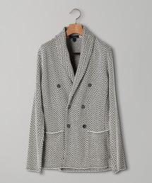 <LARDINI > 人字呢 絲瓜領 西裝外套