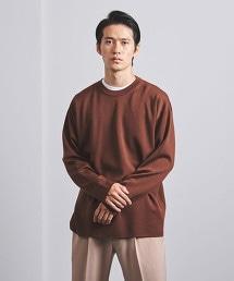 <BATONER> 柔滑素材 圓領針織毛衣