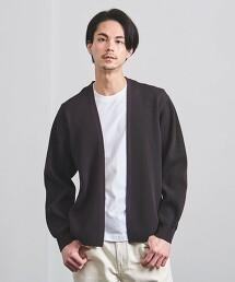 <BATONER> 細丹尼 羅紋對襟外套 日本製
