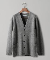 UAST 雙層布料對襟外套