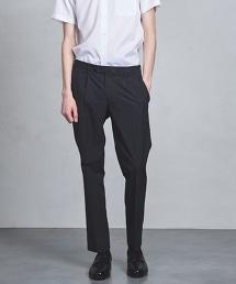 UADT 格紋 單摺 長褲