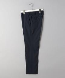<SOVEREIGN> CTN/PU 窗格紋 無摺錐形褲