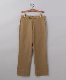 <UNITED ARROWS> 雙層織物 無摺 直筒褲