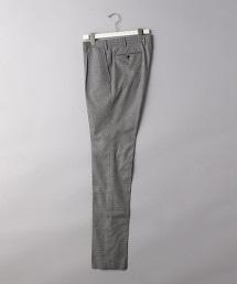 <UNITED ARROWS> 狩獵俱樂部格紋彈性 1P 錐形褲