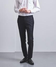 <UNITED ARROWS> 嗶嘰布 無摺錐形褲