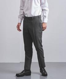 <SOVEREIGN>  輕薄羊毛素材 無摺 錐形剪裁 西裝褲