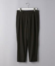 <UNITED ARROWS> WL/VI 斜紋織 1摺 錐形長褲