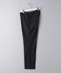 <UNITED ARROWS> 聚酯纖維/羊毛 輕薄素材 無摺長褲