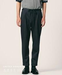 <UNITED ARROWS COZY> 運動服材質 打摺 輕便褲