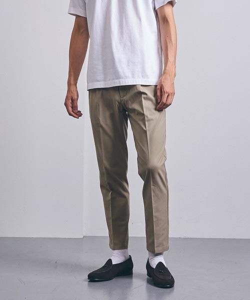 <UNITED ARROWS> 斜紋織 輕便褲