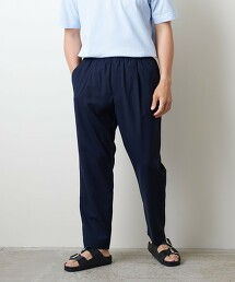 <UNITED ARROWS> 羊毛/聚酯纖維 全鬆緊 輕便褲