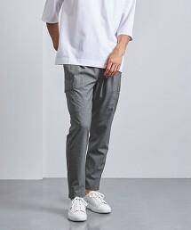 <UNITED ARROWS > 尼龍/彈性纖維 全鬆緊帶 工作褲