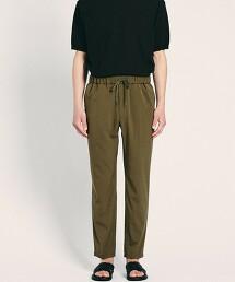 <UNITED ARROWS > 乾爽觸感 聚酯纖維 全鬆緊 輕便褲