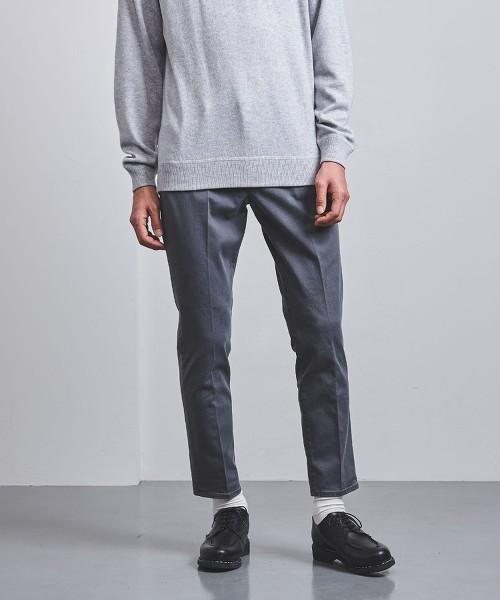 <SOVEREIGN> 褪色 中央燙線 休閒長褲 5P 日本製