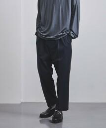 <CELLAR DOOR> 1摺 運動服材質 長褲 義大利製