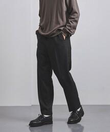 <CELLAR DOOR> 薩克森毛呢 側邊直條紋 長褲 義大利製