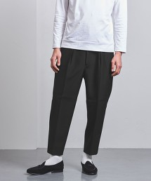 <UNITED ARROWS> 羊毛 1P 錐形褲