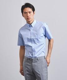 □<UNITED ARROWS> EASY CARE 細條紋扣領襯衫
