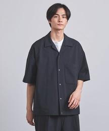 <UNITED ARROWS> 棉尼龍 2WAY 襯衫