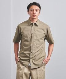 <UNITED ARROWS> 雙口袋標準領短袖襯衫†