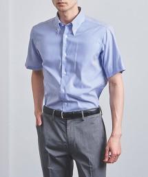 <SOVEREIGN> EASY CARE 倫敦直條紋 釦領襯衫
