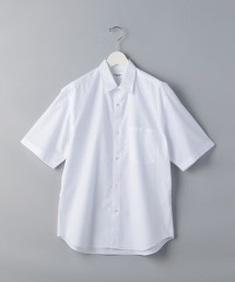 <UNITED ARROWS> 菲尼克斯棉 標準領短袖襯衫