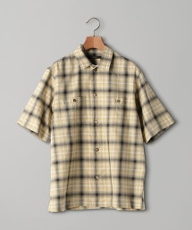 <UNITED ARROWS> 2口袋 格紋襯衫