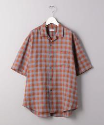 <Salvatore Piccolo> 方塊格 開領襯衫