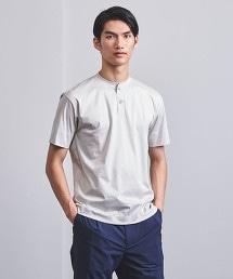 <UNITED ARROWS> 柔滑素材 亨利領T恤