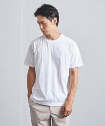 <UNITED ARROWS >  SUVIN/SAPPHIRE 短袖 T恤 日本製