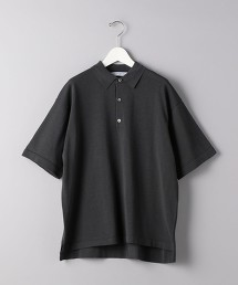 <UNITED ARROWS> PE/LI 寬版針織POLO衫