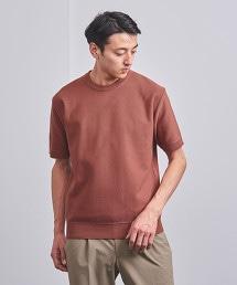 ○UASB CO/AC 鹿子織圓領短袖針織衫†
