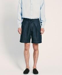 <UNITED ARROWS > 原色丹寧短褲