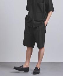 <UNITED ARROWS> 棉尼龍 2WAY 短褲