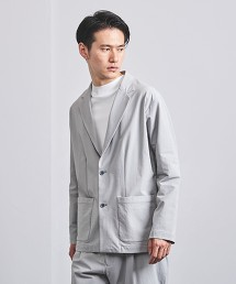 <UNITED ARROWS> 尼龍聚酯纖維 2B 西裝外套