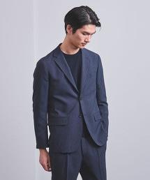 □<UNITED ARROWS> CTY 格紋 2B 西裝外套