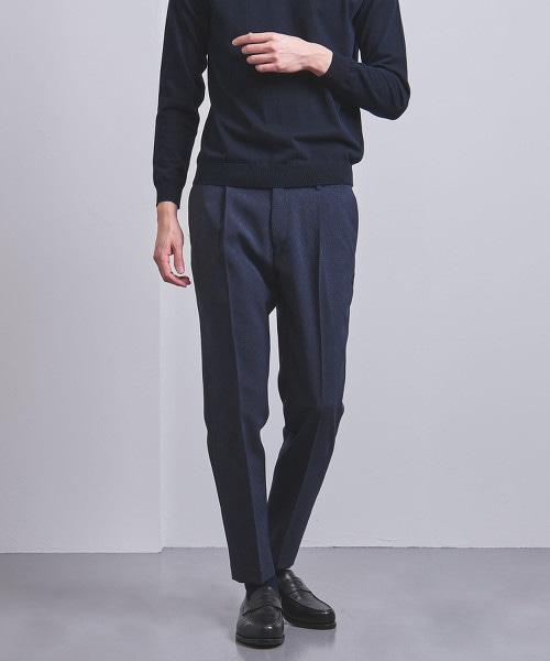 □<UNITED ARROWS> CTY 格紋 1P 輕便褲