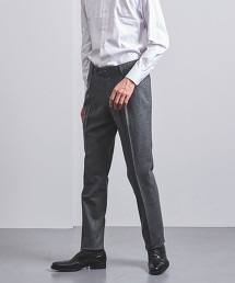 <UNITED ARROWS> 素色單摺 S-MDL西裝褲†