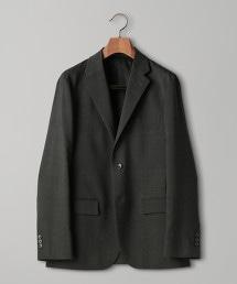<UNITED ARROWS> 方格紋 2B 西裝外套