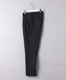 <UNITED ARROWS> 泡泡紗 2摺 長褲