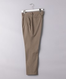 <UNITED ARROWS> 細格紋 打摺錐形褲