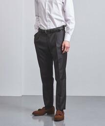 <UNITED ARROWS> REDA 格倫格紋 1摺 西裝褲