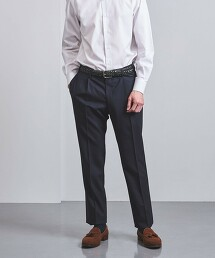 <UNITED ARROWS> 格紋 1摺 西裝褲