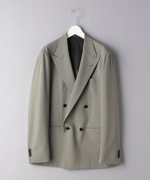 <UNITED ARROWS> 千鳥格花紋 雙排4B 西裝外套 S-MODEL