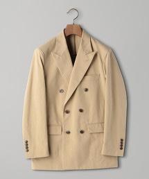 < UNITED ARROWS > 尼龍牛津 6B 西裝外套